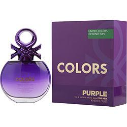 Colors De Benetton Purple By Benetton Edt Spray 2.7 Oz