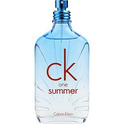 Ck One Summer By Calvin Klein Edt Spray 3.4 Oz (limited Edition 2017) *tester