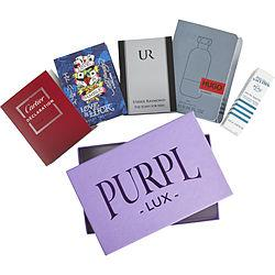 Purpl Lux Subscription Box For Men By  - $ur - $ed Hardy Love & Luck - $declaration - $jean Paul Gaultier Le Beau Male - $hugo Element
