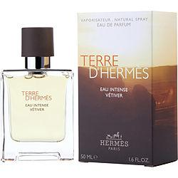 Terre D'hermes Eau Intense Vetiver By Hermes Eau De Parfum Spray 1.6 Oz