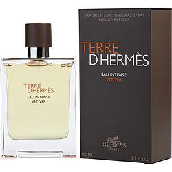 Terre D'hermes Eau Intense Vetiver By Hermes Eau De Parfum Spray 3.3 Oz