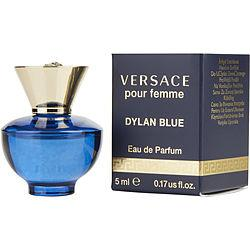 Versace Dylan Blue By Gianni Versace Eau De Parfum .17 Oz Mini