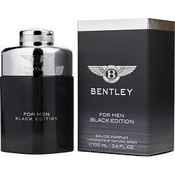 Bentley For Men By Bentley Eau De Parfum Spray 3.4 Oz (black Edition)