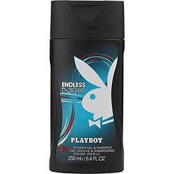 Playboy Endless Night By Playboy Shampoo & Shower Gel 8.45 Oz