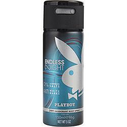 Playboy Endless Night By Playboy Deodorant Body Spray 5 Oz