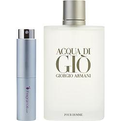 Acqua Di Gio By Giorgio Armani Edt Spray .27 Oz (travel Spray)