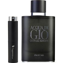 Acqua Di Gio Profumo By Giorgio Armani Parfum Spray .27 Oz (travel Spray)
