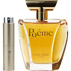Poeme By Lancome Eau De Parfum Spray .27 Oz (travel Spray)