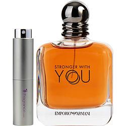 Emporio Armani Stronger With You By Giorgio Armani Edt Spray .27 Oz (travel Spray)