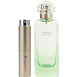 Un Jardin Sur Le Toit By Hermes Edt Spray .27 Oz (travel Spray)