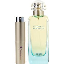 Un Jardin En Mediterranee By Hermes Edt Spray .27 Oz (travel Spray)