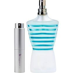 Jean Paul Gaultier Le Beau Male By Jean Paul Gaultier Edt Intensely Fresh Spray .27 Oz (travel Spray)