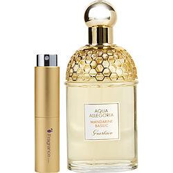Aqua Allegoria Mandarine-basilic By Guerlain Edt Spray .27 Oz (travel Spray)