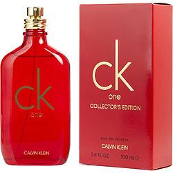 Ck One By Calvin Klein Edt Spray 3.4 Oz (2019 Collectors Edition Bottle)