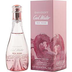 Cool Water Sea Rose By Davidoff Edt Spray 3.3 Oz (summer Limited Edition 2019)