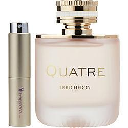 Boucheron Quatre En Rose Florale By Boucheron Eau De Parfum Spray .27 Oz (travel Spray)