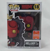 Hellboy in Suit Pop! Vinyl Figure #18 - 2018 Convention Exclusive