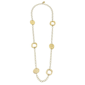 "Susan Shaw 33"" Oval Chain Necklace"