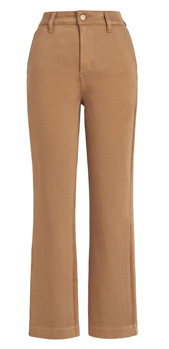 Level 99 - Gillian Straight Leg Trouser - Caramel