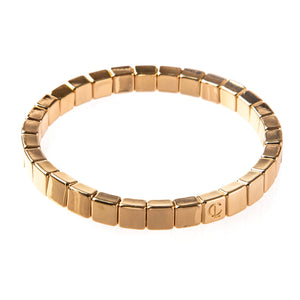 Caryn Lawn - Gold Mini Bar Tile Bracelet