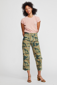 Free People- Remy Camo Printed Pant