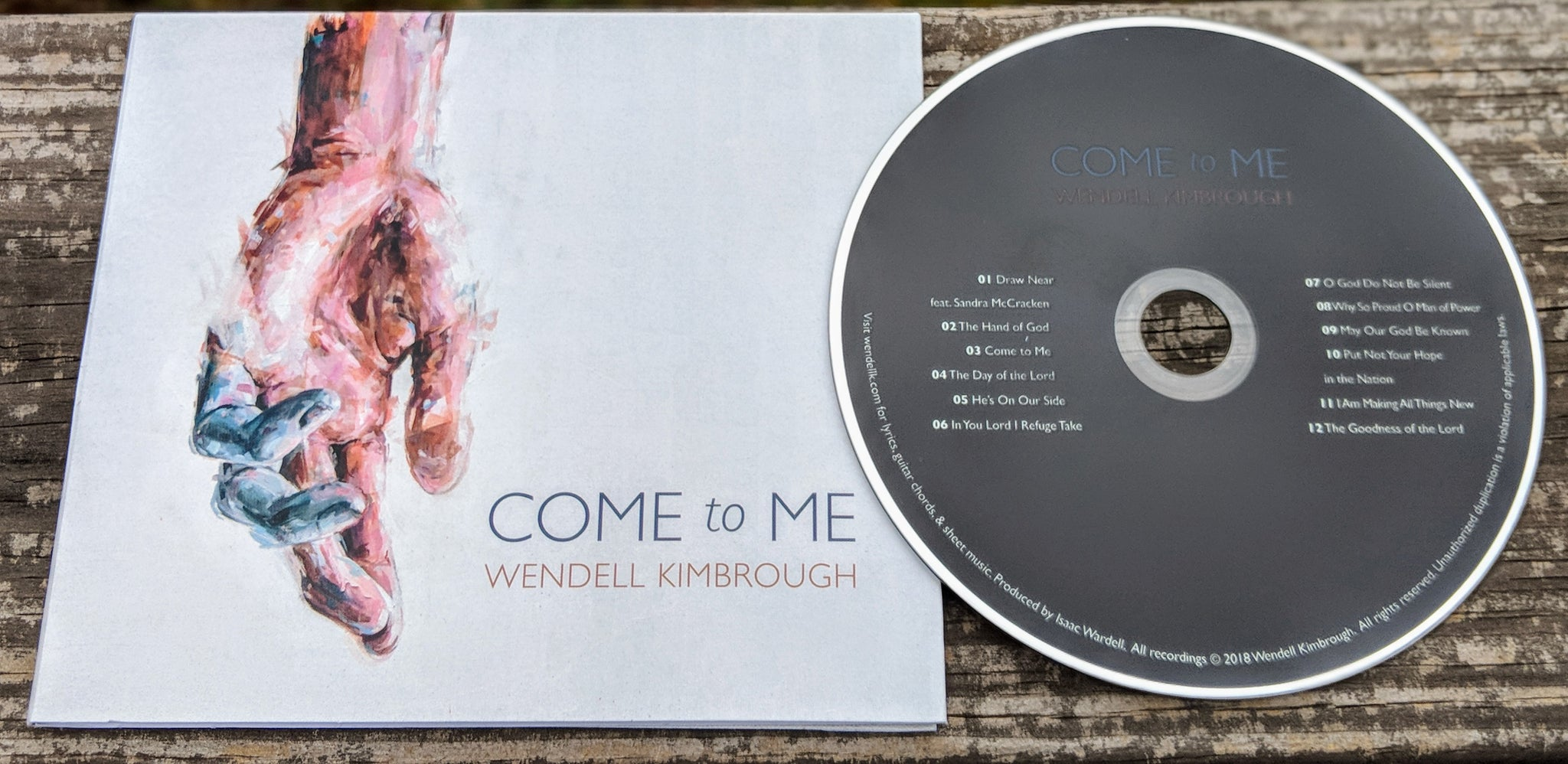 Come To Me Cd Wendell Kimbrough