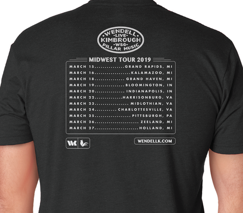 Limited Edition Midwest Tour 2019 T-Shirt