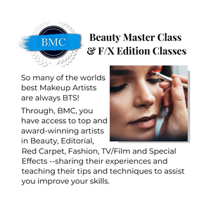 Beauty Master Class & F/X Edition Classes
