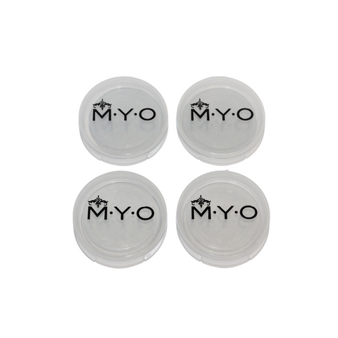 M·Y·O Makeup Pods: Medium Transparent, sets of 4 (the original)