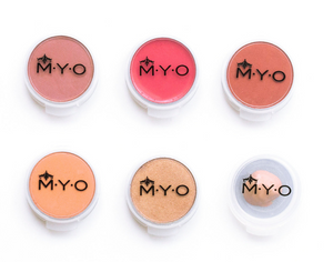 M·Y·O Makeup Pods: Small Transparent, sets of 6 (the original)