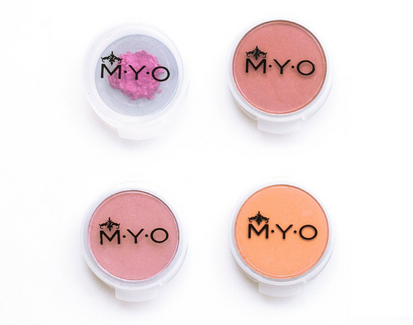M·Y·O Makeup/Beauty Pods: Large Transparent, sets of 4