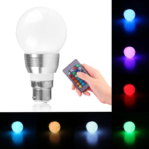 16 Color Changing RGB LED Light Bulb