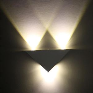 Triangle LED Wall Lamp