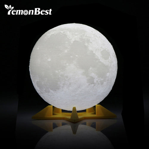 3D Full Moon Night Light