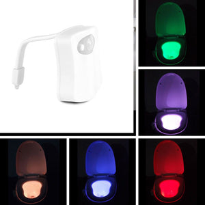 LED Motion Sensor Toilet Night Light