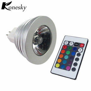 High Powered LED RGB Lamp With IR Remote Controller