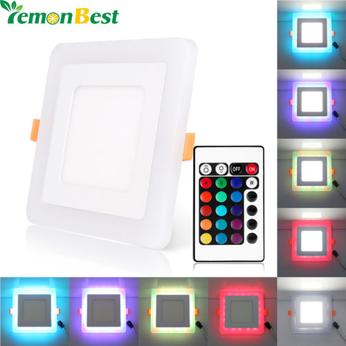 Slim Dual Color Square LED Light Panel