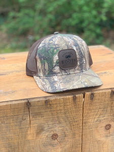 Dark Patch Hat Realtree Brown