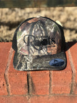 S/Roots Camo Trucker Hat-Camo/Black
