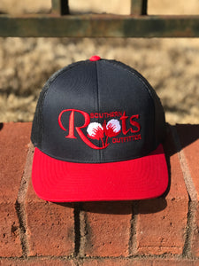 S/Roots Trucker Hat-Navy/Navy
