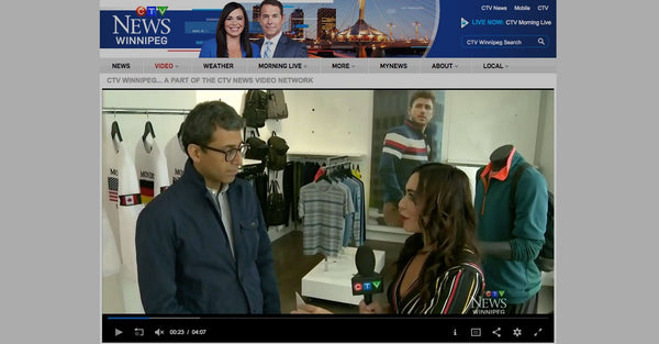 Mondetta CEO, Ash Modha, Shows Off Originals Sweatshirts on CTV News
