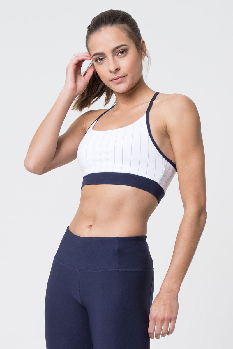 Scout Medium Support Striped Bra