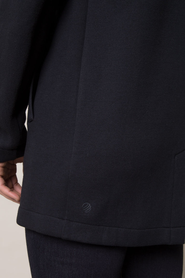 Appointed Engineered Fleece Long Jacket