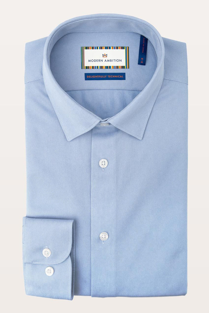 Résumé FlexWarp Knit Standard-Fit Shirt