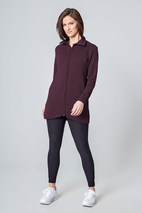 Women's Ottoman Jacket - Raisin