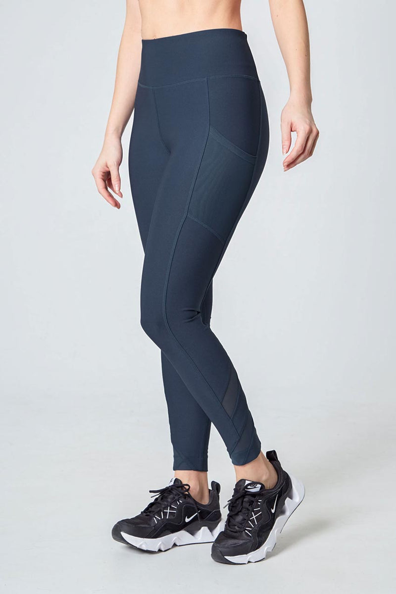 Active Legging - Iron Blue