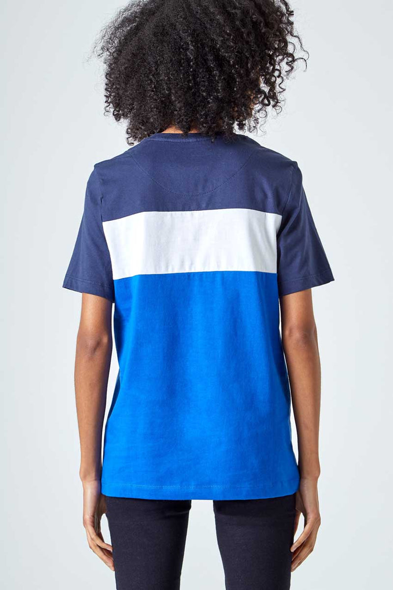 Captain Color Blocked Logo Tee
