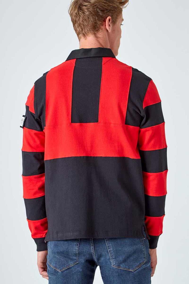 Flagstaff Color Blocked Rugby Shirt