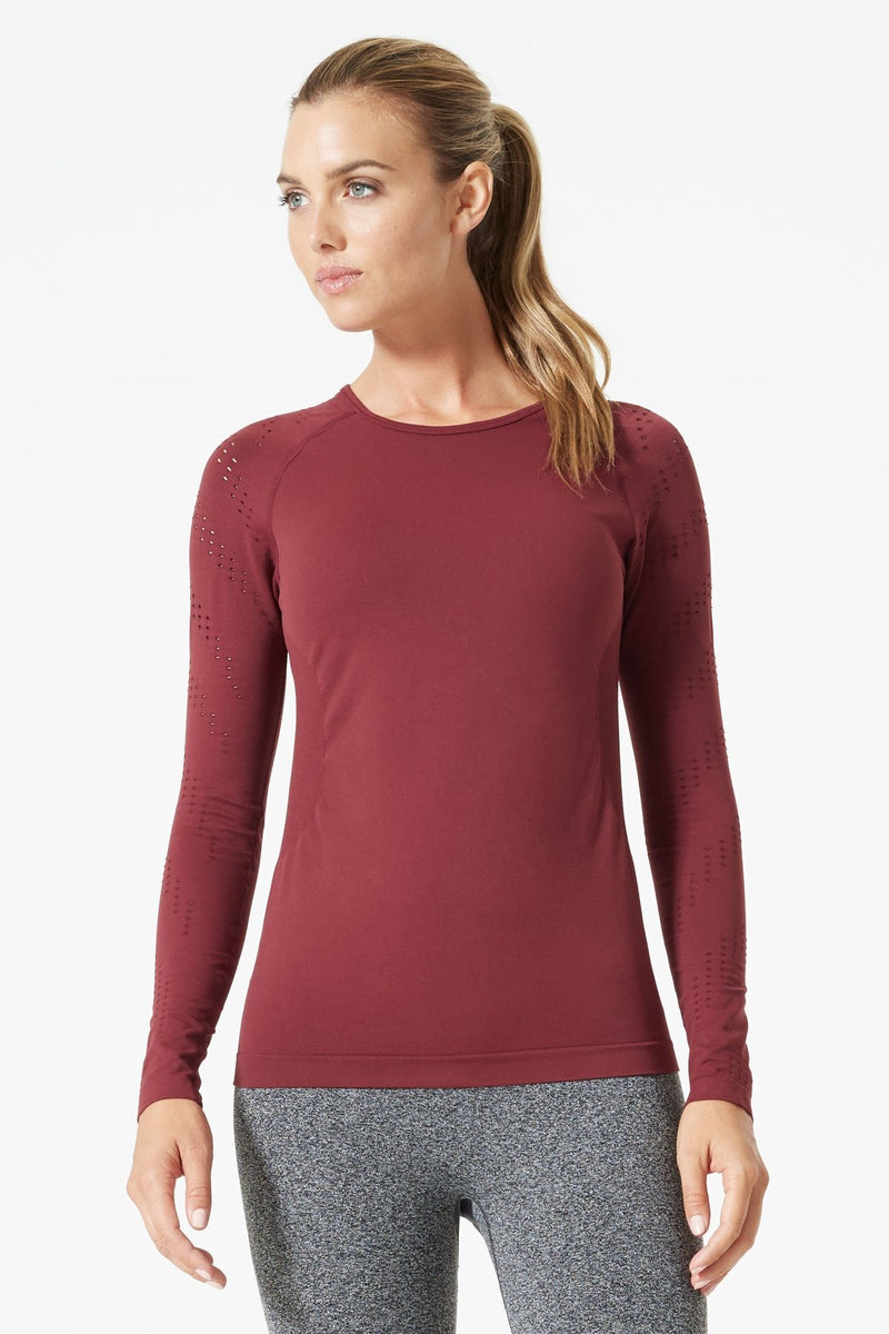 Ellipse Stink-Free Seamless Long Sleeve Top
