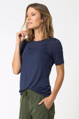 Laurel Performance Cashmere Tee